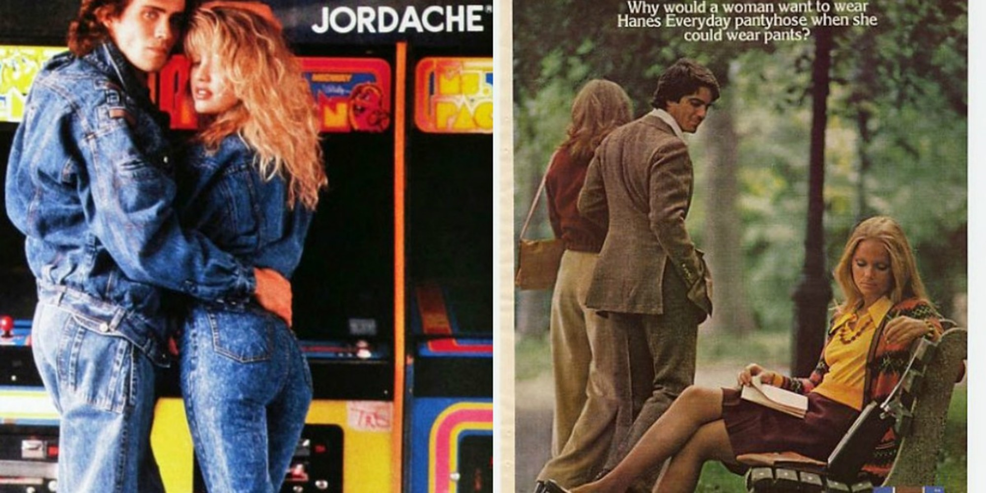 Check Out These Totally Rad Clothing Commercials From The 80s! - photo #26