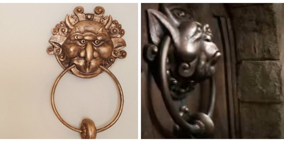 & 80u0027s Kids: You Need These Labyrinth Door Knockers Like Now.
