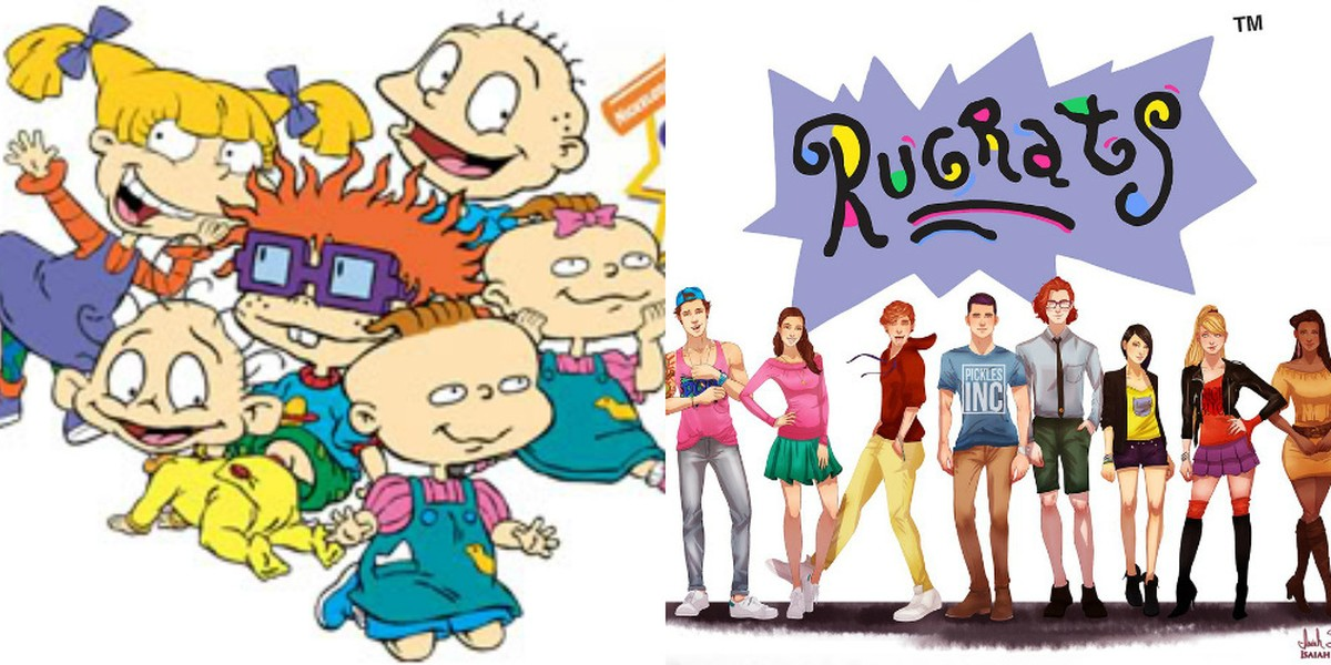 Hey 90s Kids Have You Ever Wondered What The Rugrats Would