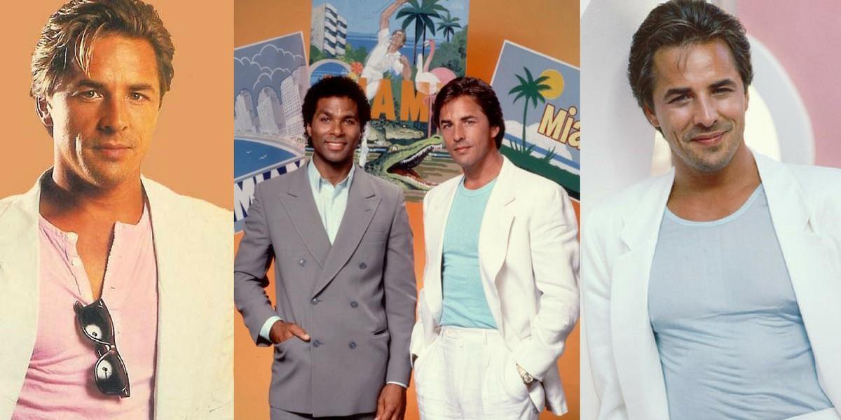 Miami Vice Don Johnson Sonny Crockett