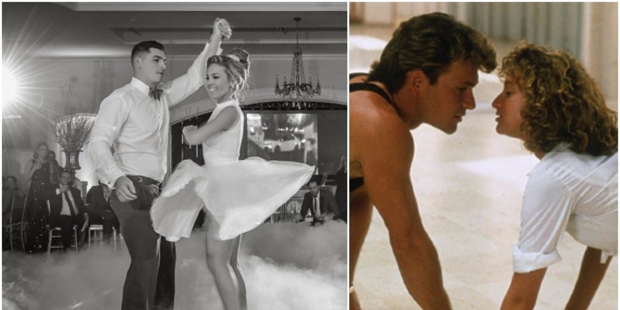 There Are Cool Wedding Dances, and Then This Couple Is Nailing The Final Dance of 'Dirty Dancing'