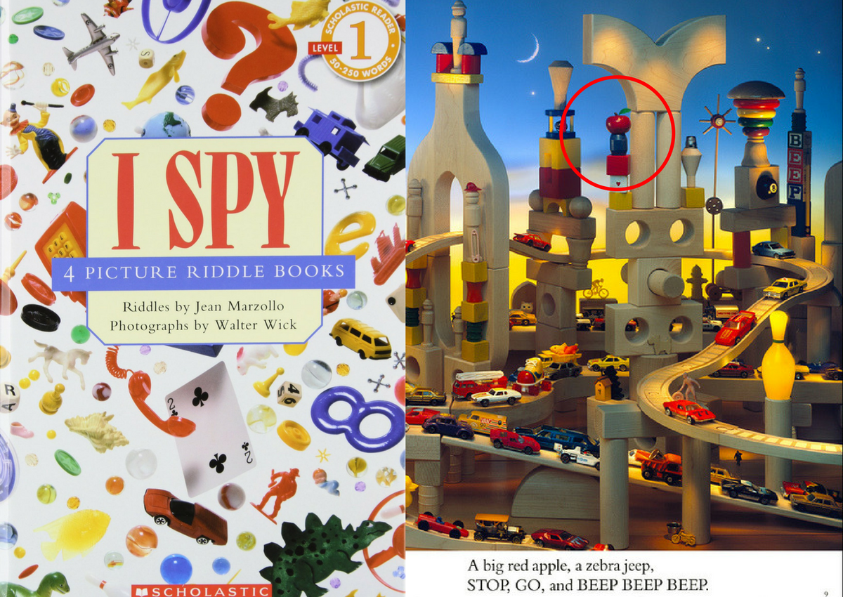 I Spy Pictures >> Do You Think You Could Could Still Solve These I Spy Puzzles