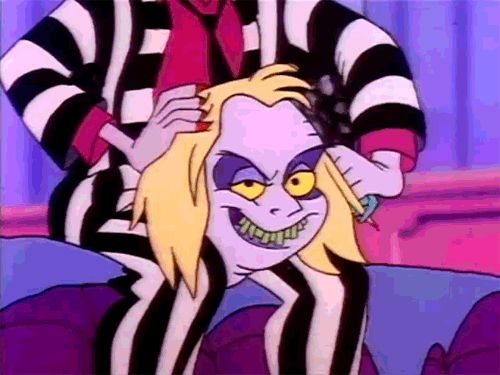 13 Times We All Related To The Cartoon Beetlejuice More Than We Wanted To