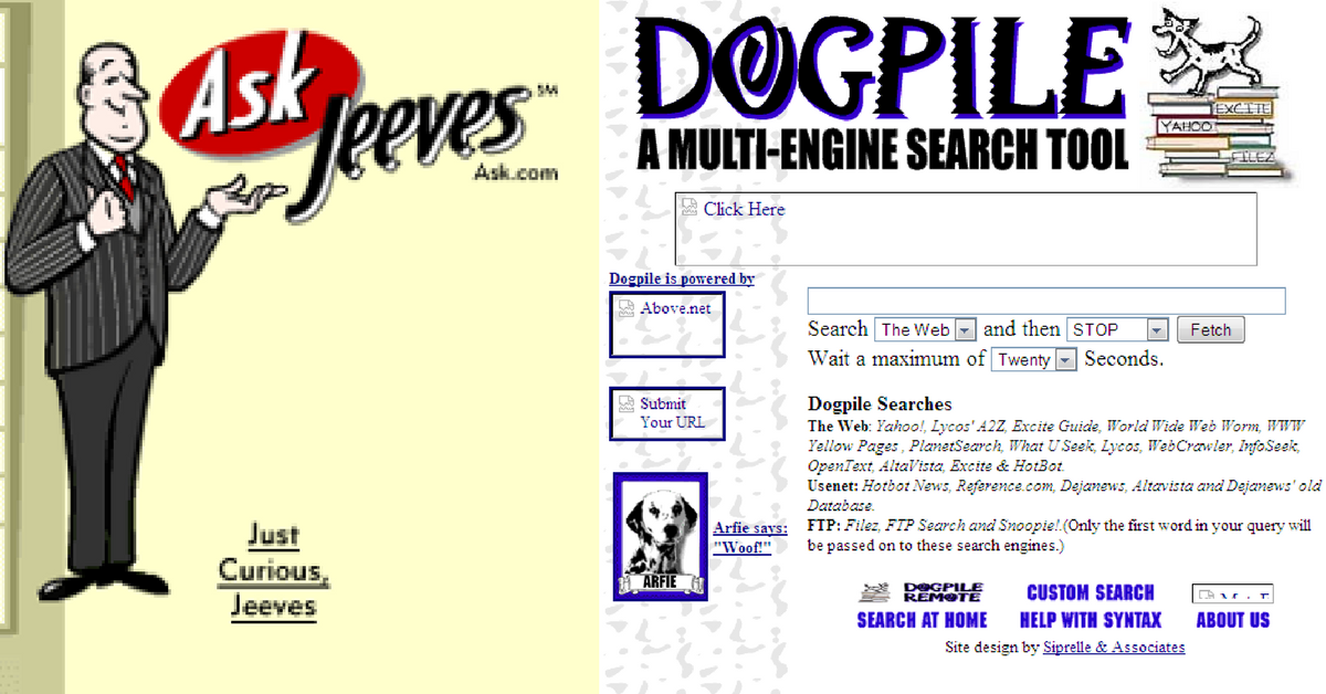 10 Search Engines From The 90s That Make Us Grateful For Google