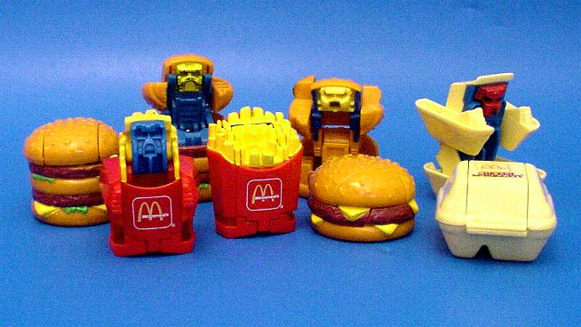 Little Food Toys : Classic happy meal toys we desperately wanted when