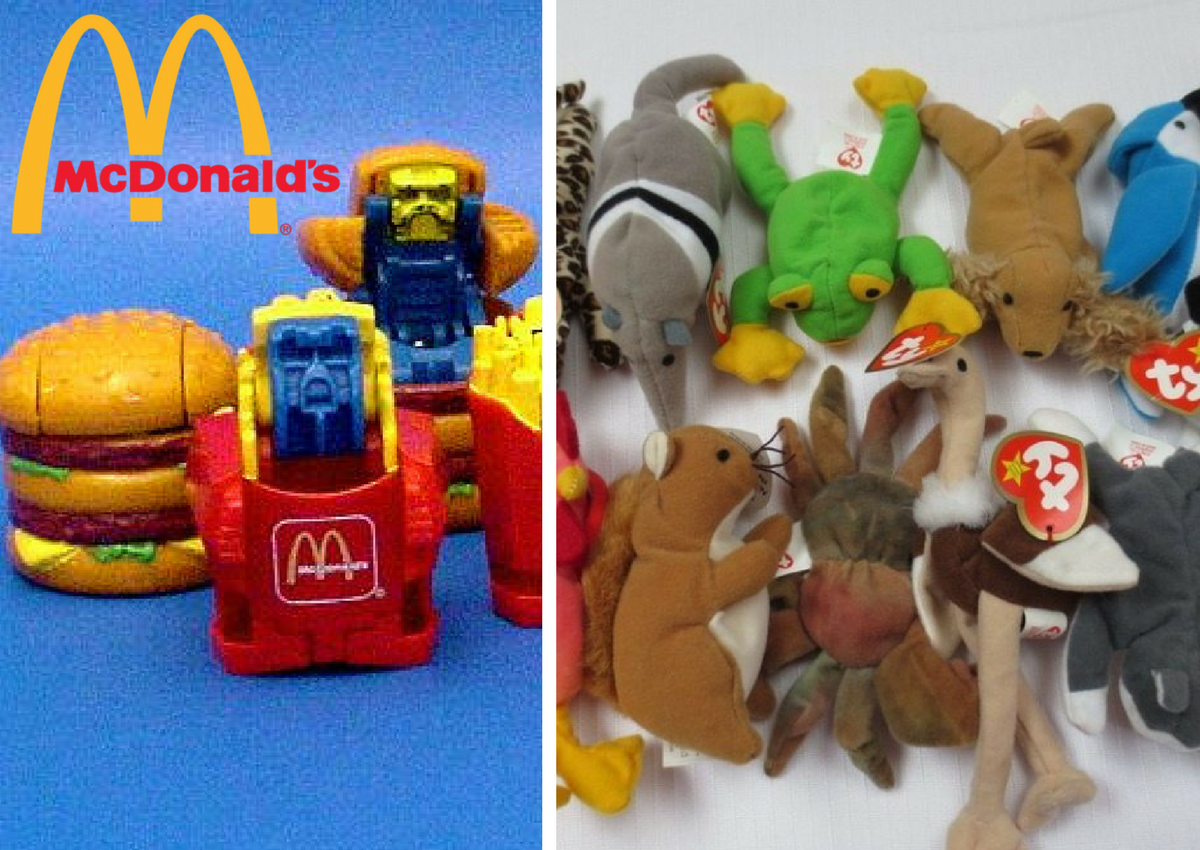 Happy Meal Toys : Classic happy meal toys we desperately wanted when
