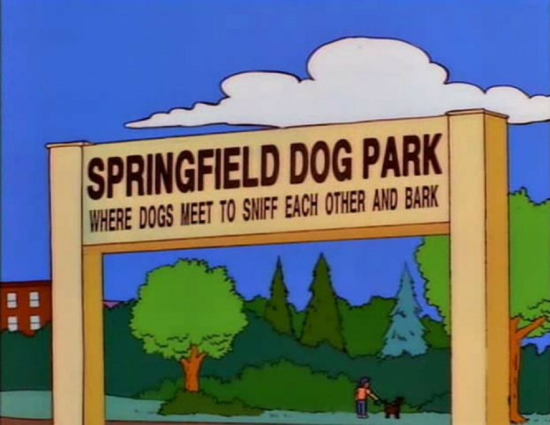 20 Of The Funniest Signs From The Simpsons