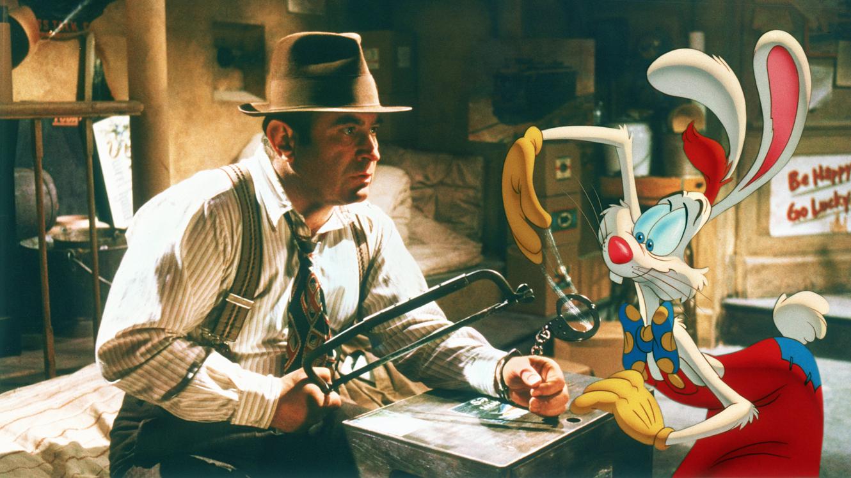 Bob Hoskins and Roger Rabbit