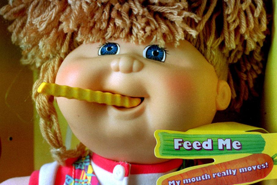 There Was A Cabbage Patch Doll In The 90s That Actually Had To Be Recalled Because It Chewing On Children Pretty Serious