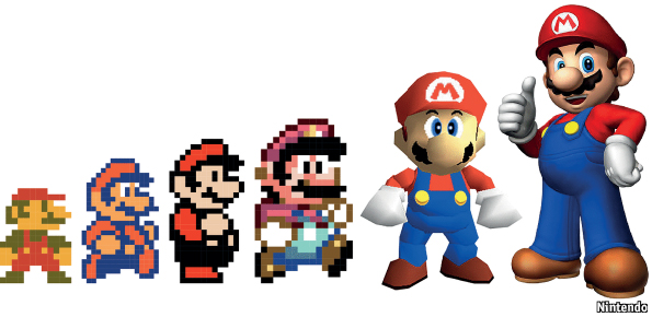 12 mario characters who are jerks - Pictures of 8 bit mario ...