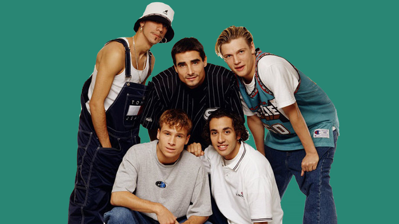 De Backstreet Boys is een Amerikaanse boyband uit Orlando Florida die is opgericht in 1993 en bestaat uit Nick Carter Brian Littrell AJ McLean Howie Dorough en