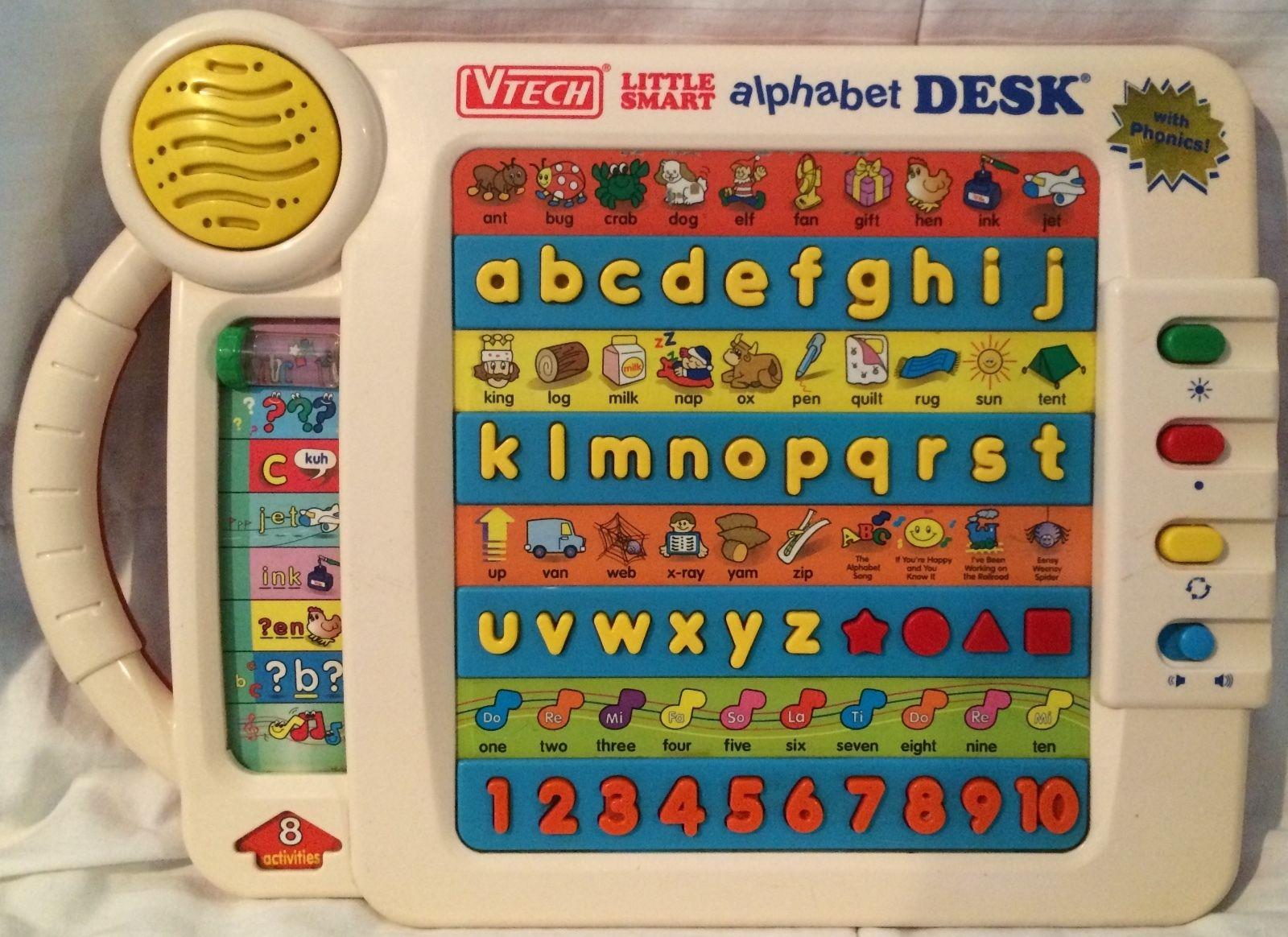 Vtech Alphabet Desk Hostgarcia
