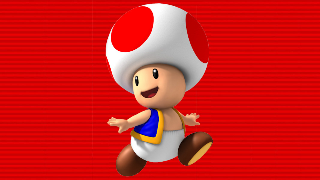 Someone Gave Toad Human Legs Now And It's Hilariously Awful