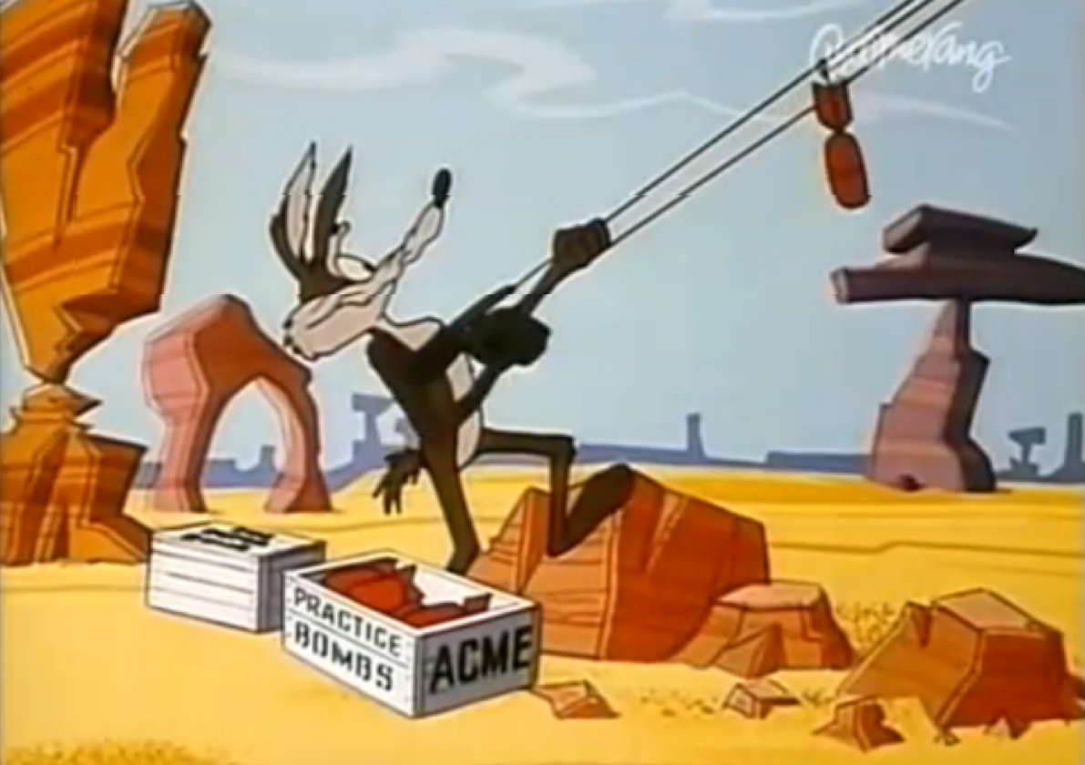 wile e coyote acme products