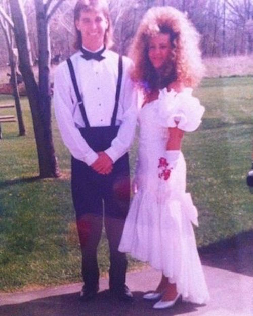 20 Prom Photos The Will Give All 80s Kids Severe Flashbacks