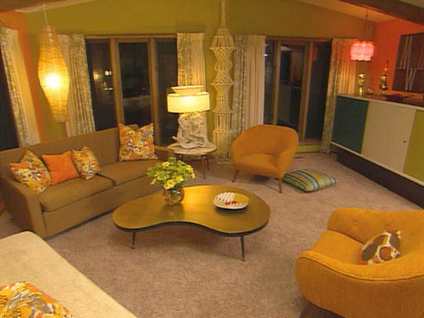 Fabulous 70s Style Living Room