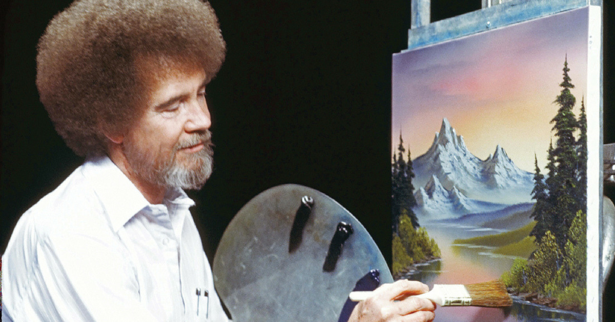 Theres Now A Bob Ross Coloring Book And Itll Make You Want To