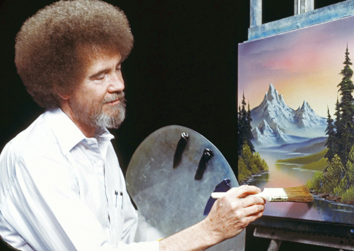 There S Now A Bob Ross Coloring Book And It Ll Make You Want To