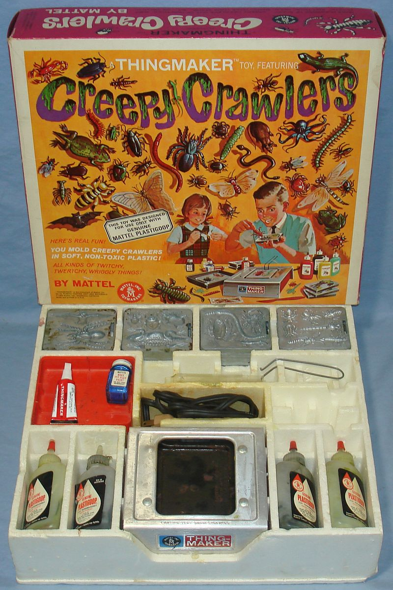 The Original Creepy Crawlers Machines Will Make You Wonder