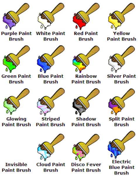 Neopets Plushie Petpet Paint Brush