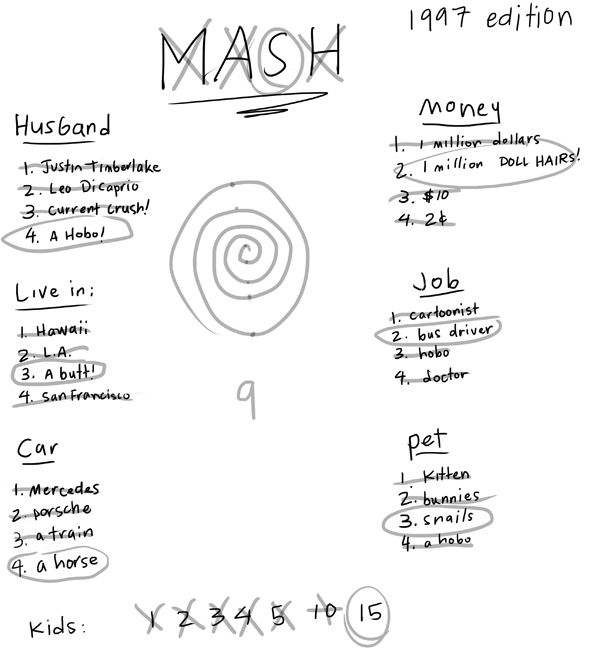image about Mash Game Printable called 10 Video games We Enjoyed That Simply Demanded A Piece Of Paper