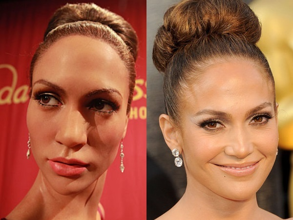 Celebrities and their realistic wax figures photos - INSIDER