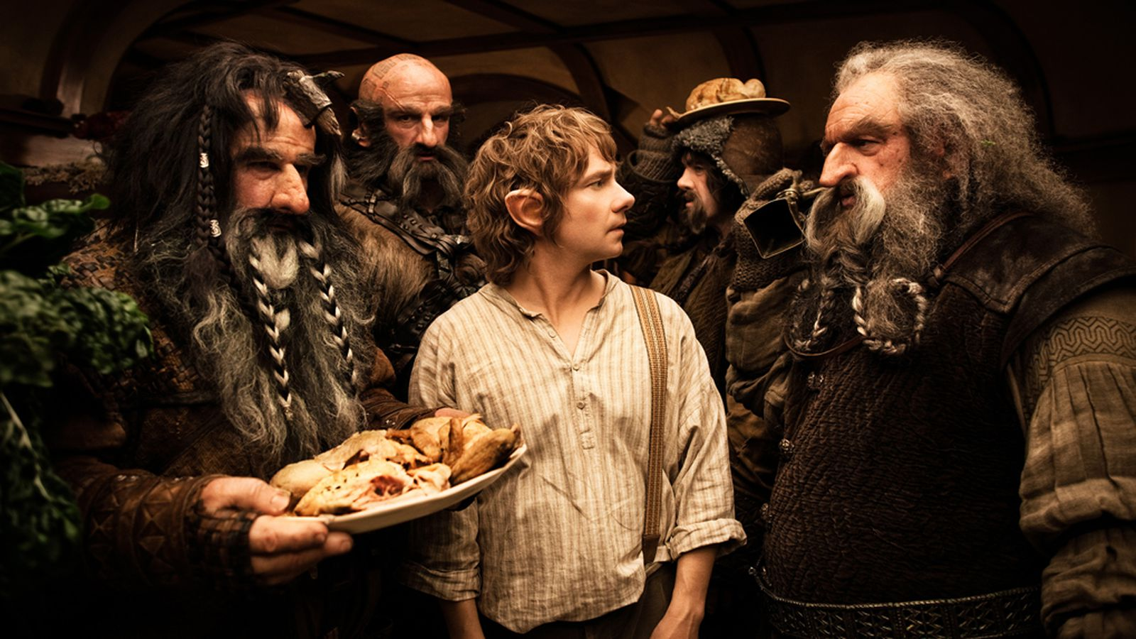 The Hobbit scene