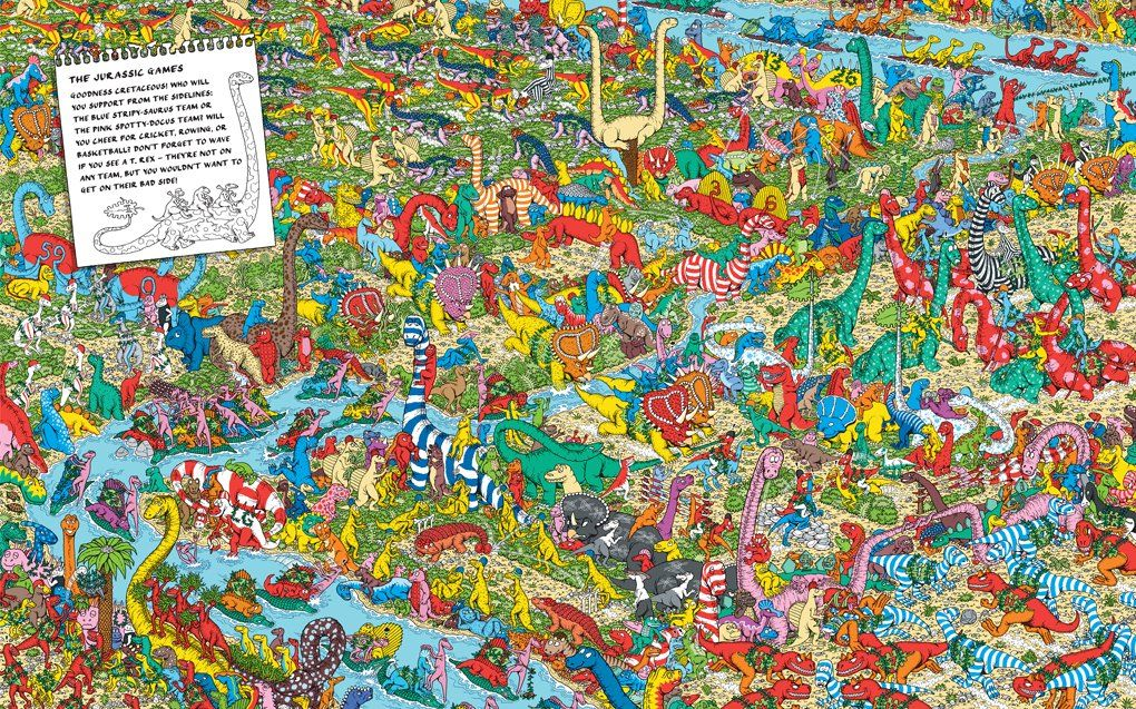 Hard wheres waldo pictures book