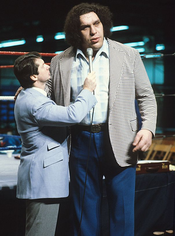André the Giant and Vince McMahon