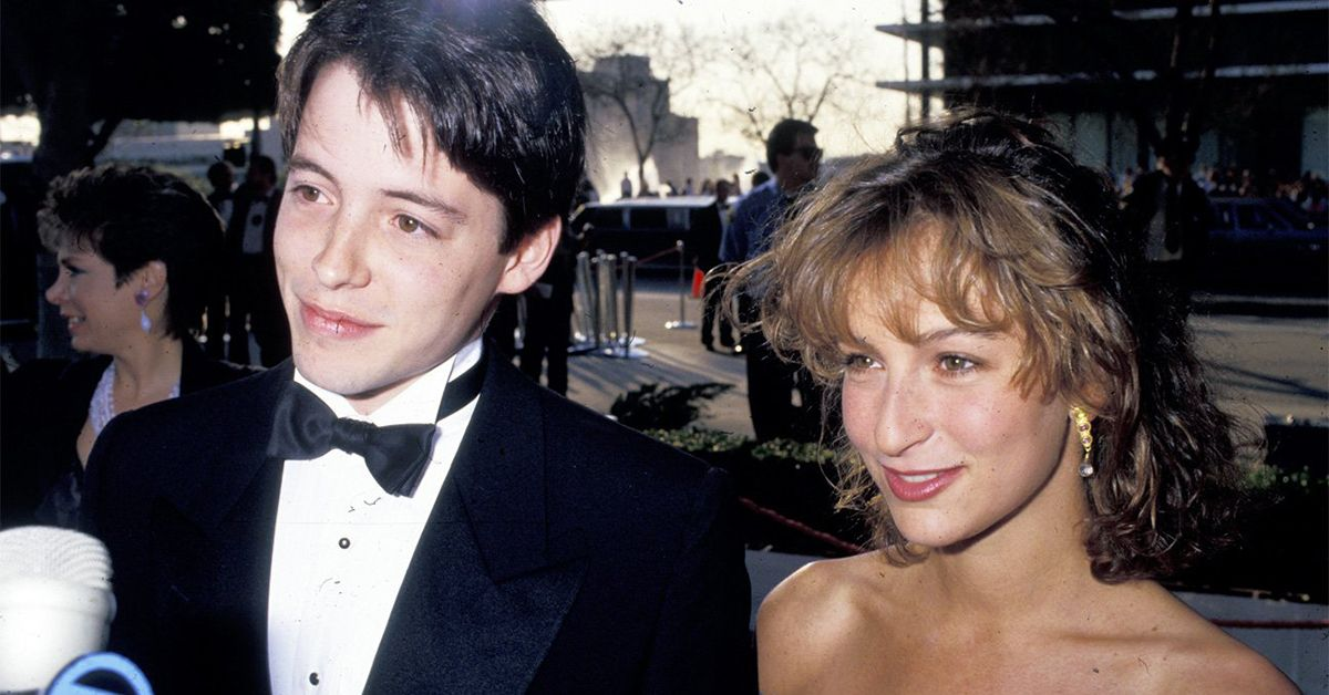 Image result for matthew broderick and jennifer grey