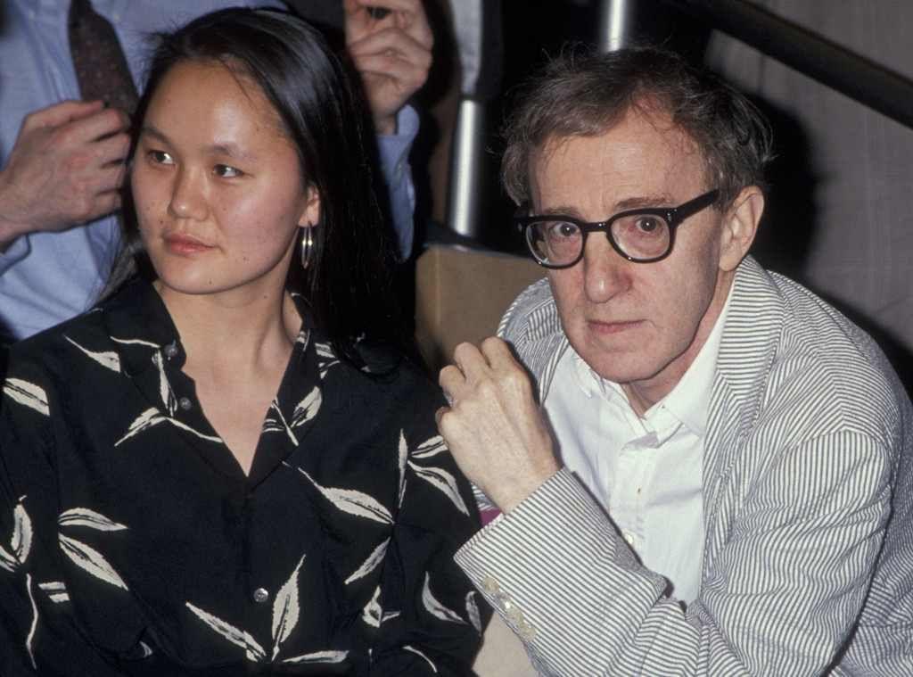 Woody Allen, Soon-Yi Previn - Soon-Yi Previn Photos - Woody Allen and Soon-Yi Previn Out in New