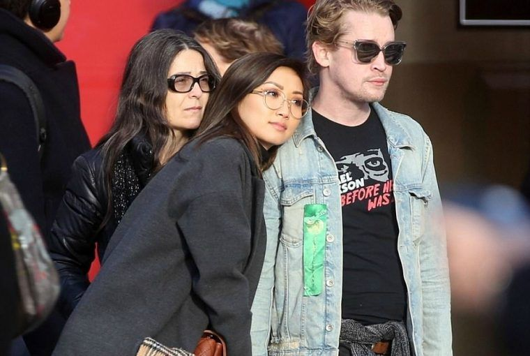 Macaulay Culkin and Brenda Song