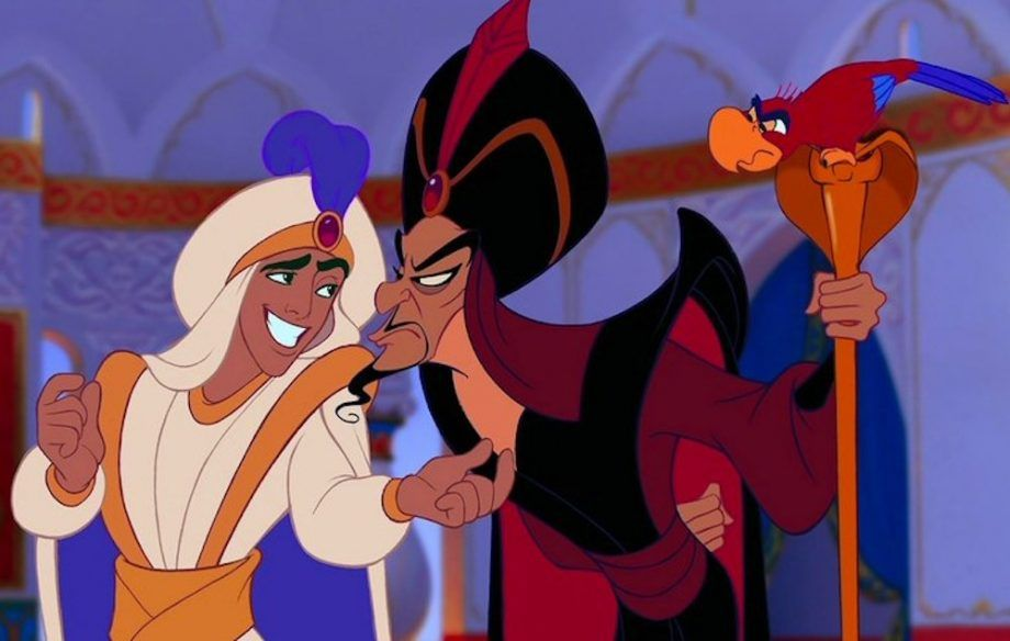 Aladdin and Jafar