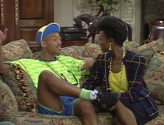 Will Smith and Aunt Viv