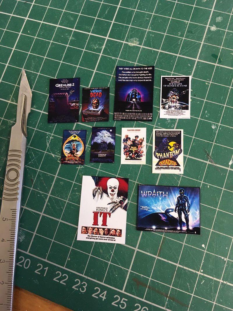 VHS cover replicas