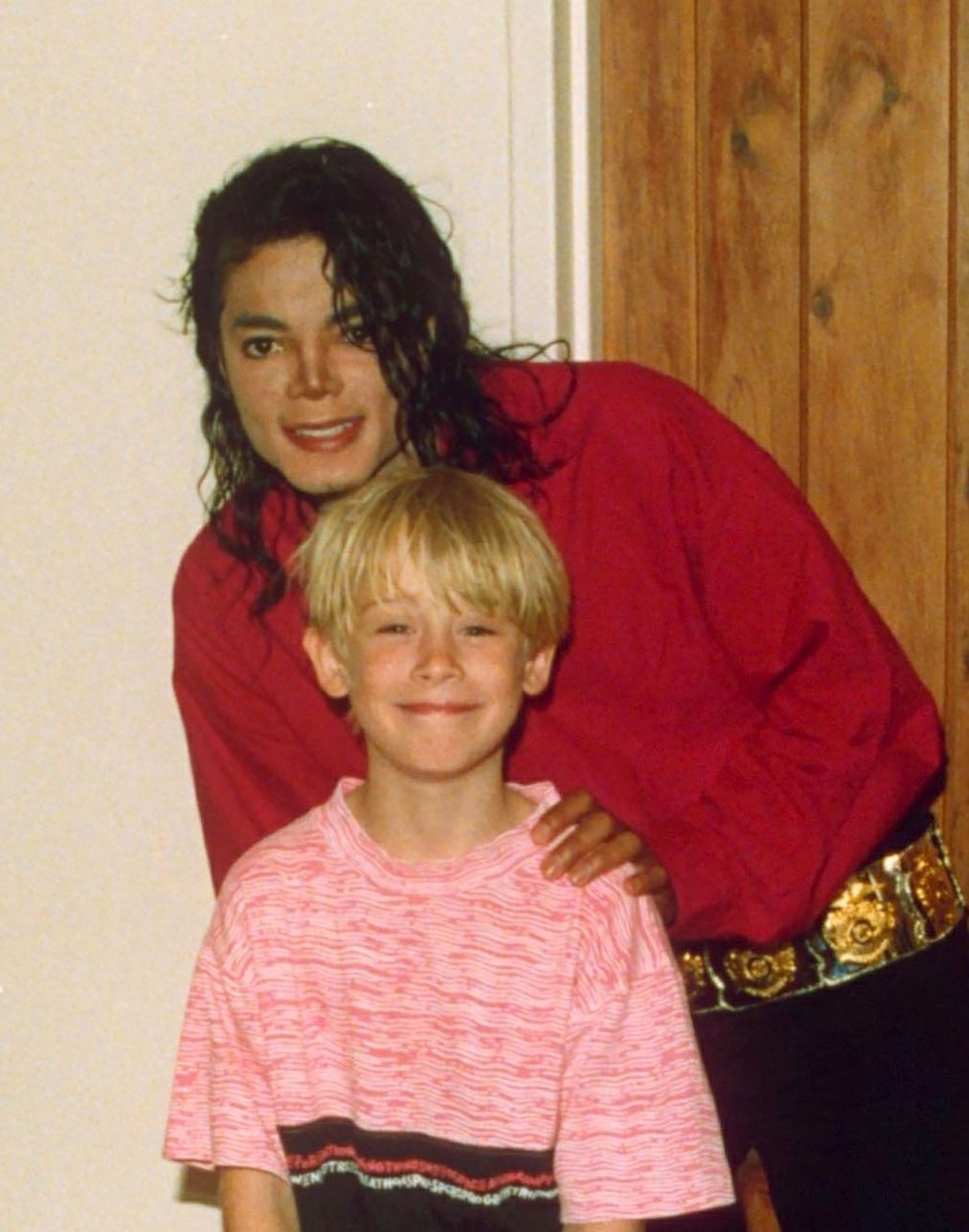 Macaulay Culkin and Michael Jackson