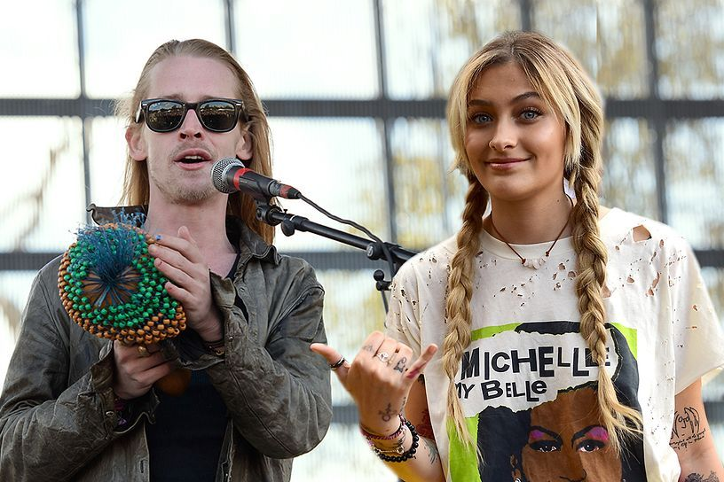 Macaulay Culkin and Paris Jackson