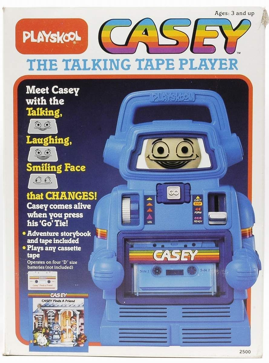 Box for Casey the Talking Tape Player