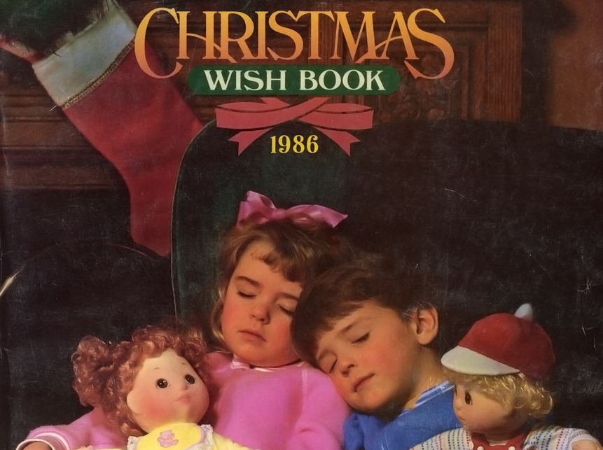 Cover of the 1986 Sears Wish Book