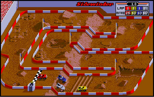Arcade version of Super Off Road