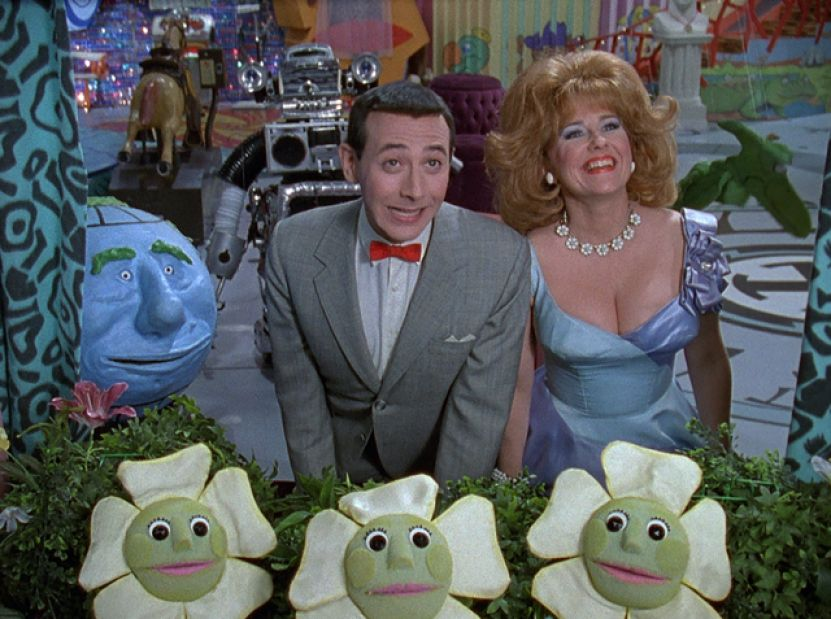 "Pee-wee Herman in ""Pee-wee's Playhouse"""