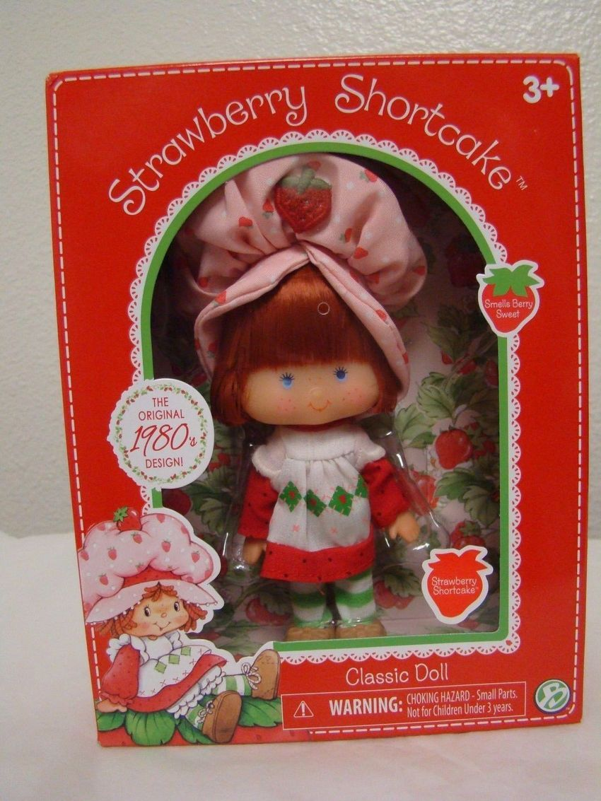 Strawberry Shortcake doll in its box