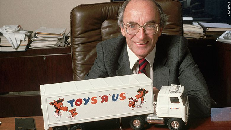 Founder of Toys R Us Charles Lazarus