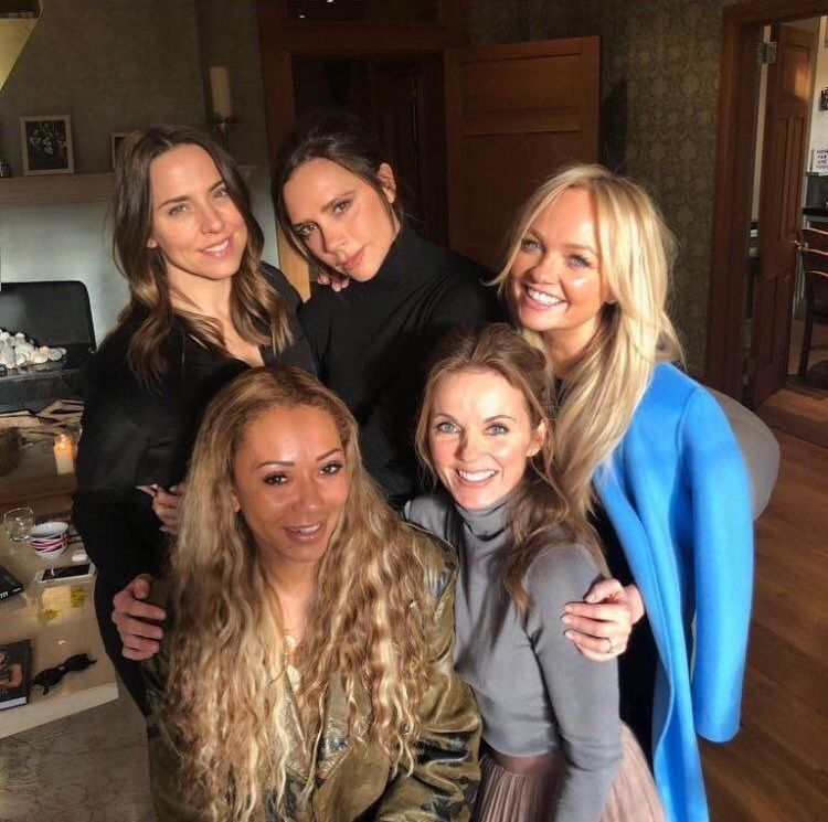 Spice Girls 2018