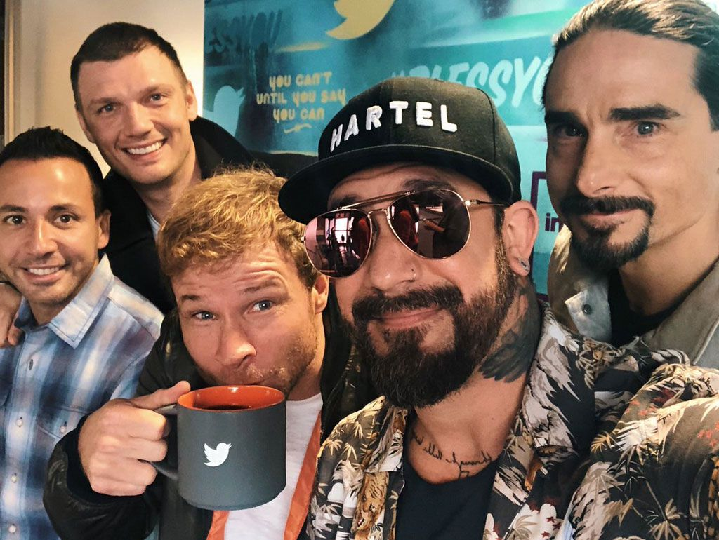 Backstreet Boys Selfie