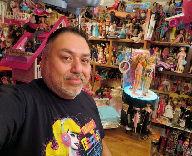 Sam Pena Barbie Collection