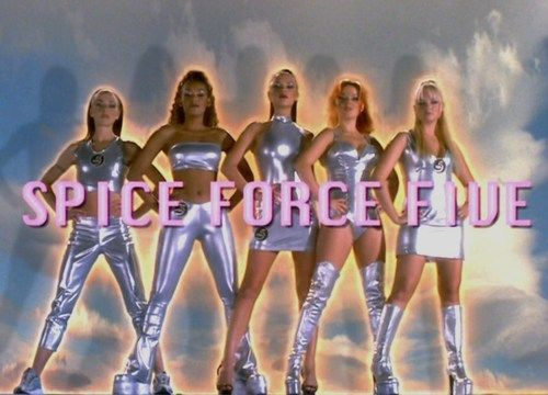 Spice Force Five Spice Girls