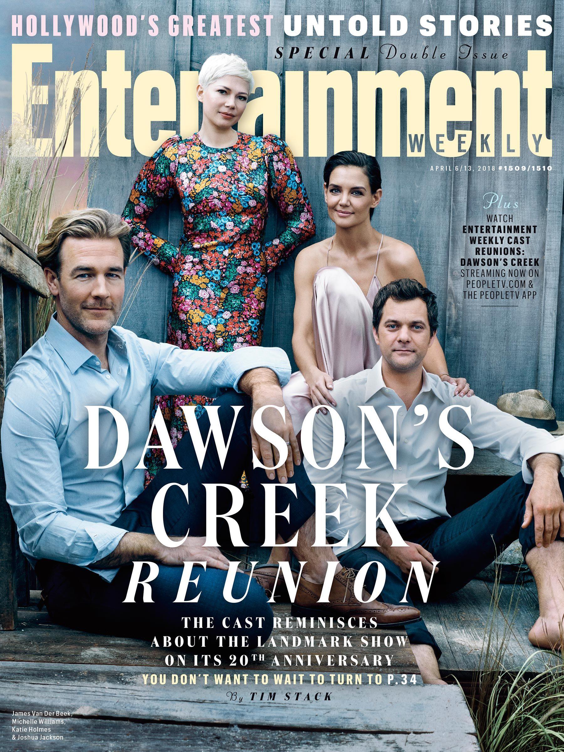 Entertainment Weekly Dawson's Creek Cover