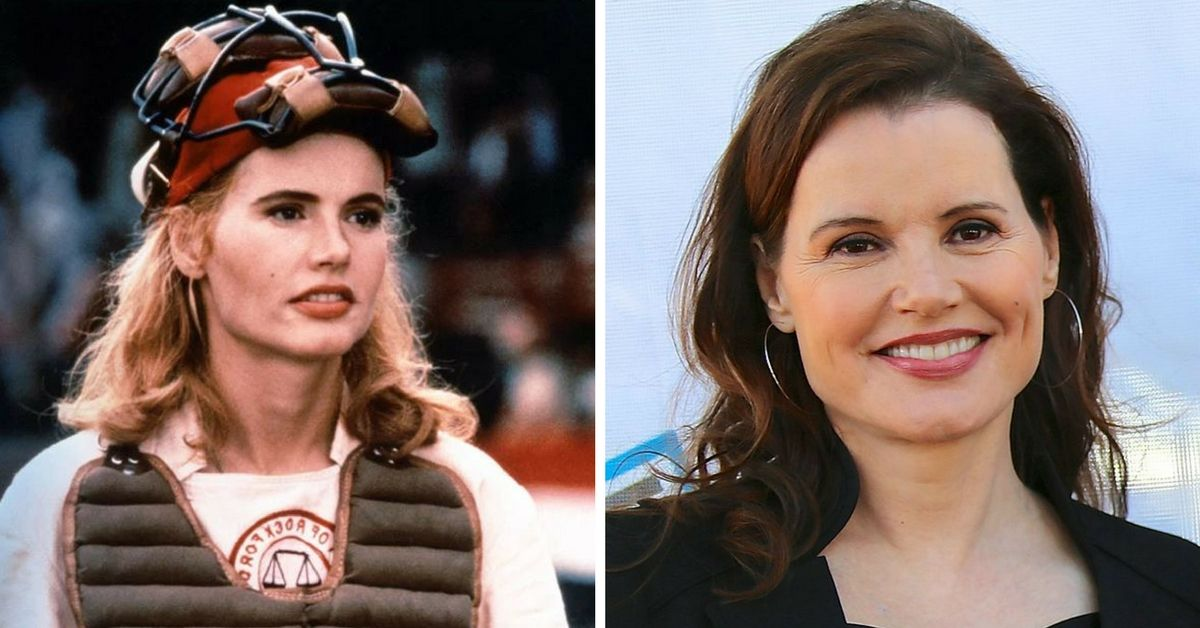 Geena Davis A Legaue Of Their Own