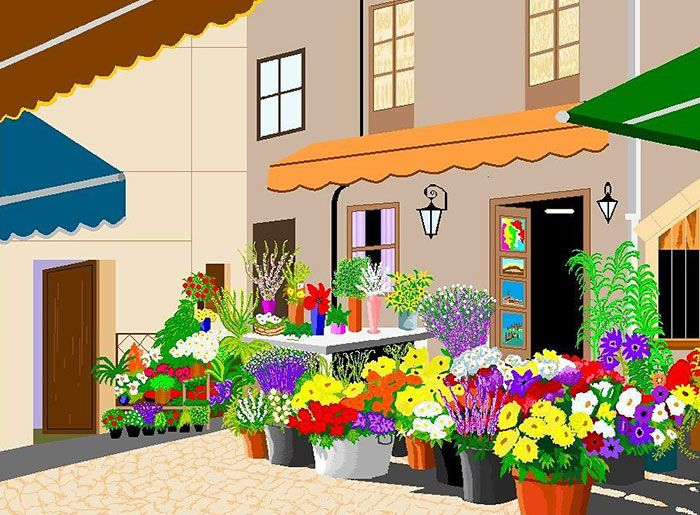 Microsoft Paint Art Concha Garcia Zaera